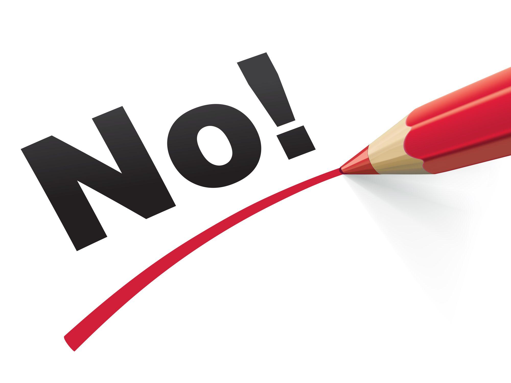 Pencil check No. Vector Illustration